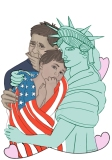 """""""Liberty Loves: Flagged"""" by Firegnat"""